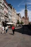 Oude stad in Gdansk Royalty-vrije Stock Foto's