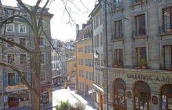 Oude Stad Genève stock fotografie