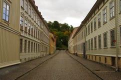Oude Stad Gothenburg stock afbeelding