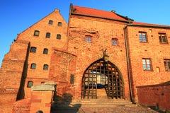Oude stad in Grudziadz Royalty-vrije Stock Afbeeldingen