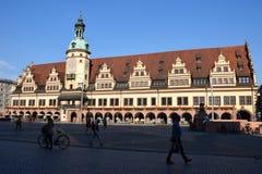 Oude stad hall2 royalty-vrije stock fotografie