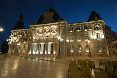 Oude Stad Hall Cartagena Spain Stock Afbeeldingen
