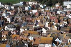 Oude stad Hasting het UK Stock Foto's
