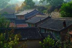 Oude stad in Hebei Stock Foto