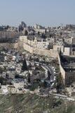Oude stad Jeruzalem Stock Fotografie