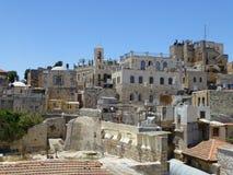 Oude stad in Jeruzalem royalty-vrije stock afbeelding