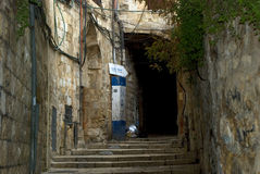 Oude stad, Jeruzalem, Israël Royalty-vrije Stock Afbeelding