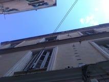 Oude stad Korfu Stock Foto's