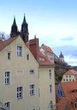 Oude stad Meissen Duitsland Royalty-vrije Stock Fotografie