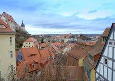 Oude stad Meissen Duitsland Stock Fotografie