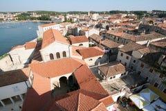 Oude stad. Mening van boven 1 royalty-vrije stock foto's