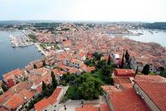 Oude stad. Mening van boven 2 royalty-vrije stock fotografie
