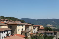 Oude stad Perugia Stock Afbeelding