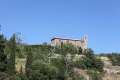 Oude stad Perugia Stock Foto's