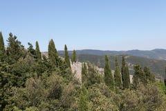 Oude stad Perugia Stock Foto