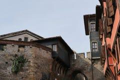 Oude stad in Plovdiv Royalty-vrije Stock Foto