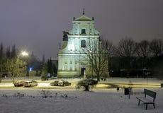 Oude stad in Poznan, Polen royalty-vrije stock afbeeldingen