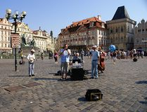 Oude Stad in Praag Stock Fotografie