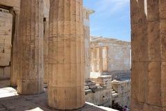 Oude stad, reis Grieks Europa, Royalty-vrije Stock Afbeeldingen