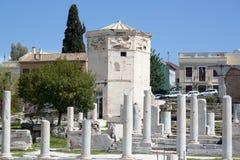 Oude stad, reis Grieks Europa, Stock Afbeeldingen
