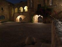 Oude stad, Rhodos Stock Afbeeldingen