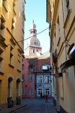 Oude stad in Riga Royalty-vrije Stock Fotografie