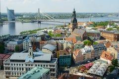 Oude stad Riga Stock Afbeelding