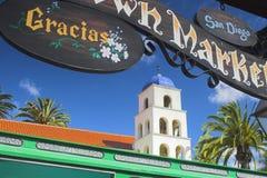 Oude stad San Diego Royalty-vrije Stock Afbeeldingen
