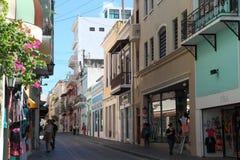 Oude stad, San Juan Stock Foto's