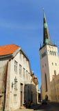 Oude stad - St. Olav kerk Royalty-vrije Stock Afbeelding