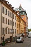 Oude stad in Stockholm royalty-vrije stock fotografie