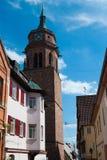 Oude stad Stuttgart - Weil der Stadt Stock Fotografie