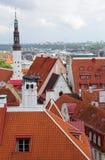 Oude stad, Tallinn, Estland Stock Fotografie
