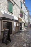 Oude stad in Trogir, Kroatië royalty-vrije stock fotografie