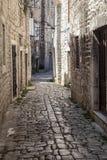 Oude stad in Trogir, Kroatië royalty-vrije stock afbeeldingen