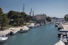 Oude stad in Trogir, Kroatië royalty-vrije stock foto