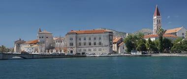 Oude stad in Trogir, Kroatië royalty-vrije stock afbeelding