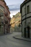 Oude stad. Uzupis Royalty-vrije Stock Afbeeldingen