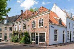 Oude stad van Amersfoort, Nederland Royalty-vrije Stock Afbeeldingen