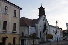 Oude stad van Banska Bystrica, Slowakije, Europa royalty-vrije stock afbeelding