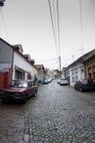 Oude Stad van Belgrad Stock Afbeeldingen