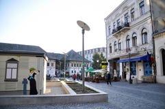Oude stad 2 van Boekarest Stock Afbeeldingen