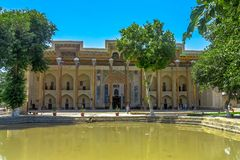 Oude Stad 26 van Boukhara royalty-vrije stock foto's