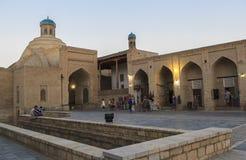 Oude stad van Boukhara in Oezbekistan Royalty-vrije Stock Fotografie