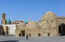 Oude stad van Boukhara in Oezbekistan Stock Foto's