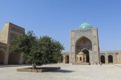 Oude stad van Boukhara in Oezbekistan Stock Afbeelding