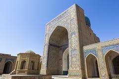 Oude stad van Boukhara in Oezbekistan Stock Fotografie