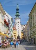 Oude Stad van Bratislava, Slowakije royalty-vrije stock fotografie