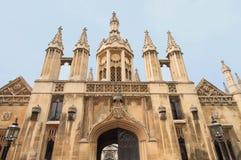Oude stad van Cambridge Royalty-vrije Stock Afbeelding