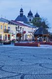 Oude stad van Chelm, Polen Stock Foto's